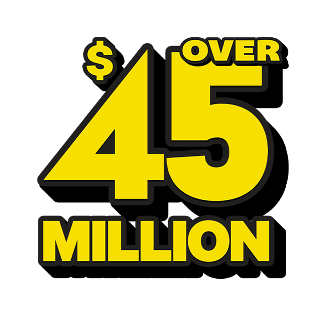 Mega Jackpot Lottery - 49 Million