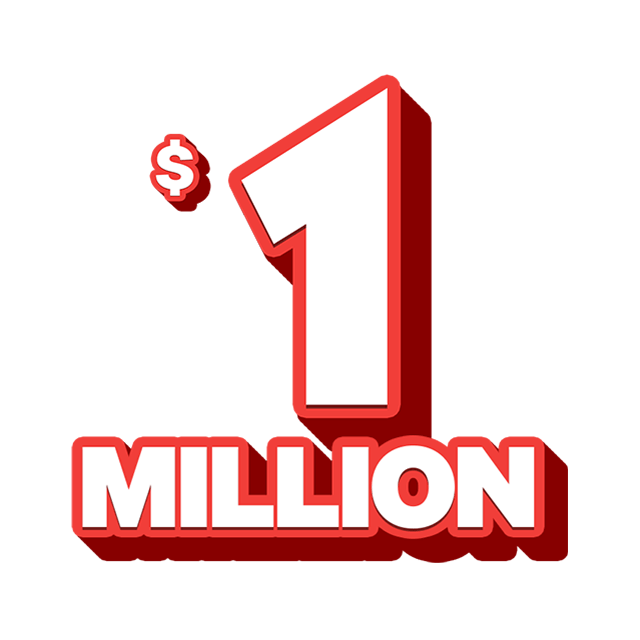 Monday X Lotto - 1 Million