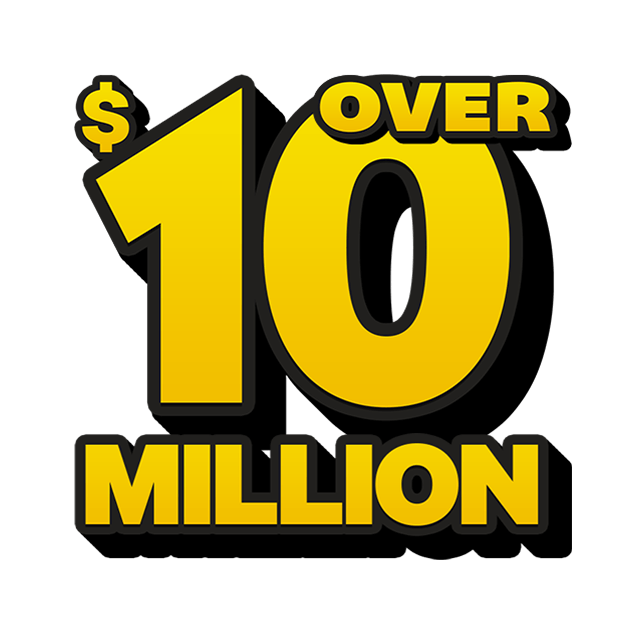 Mega Jackpot Lottery - 10 Million
