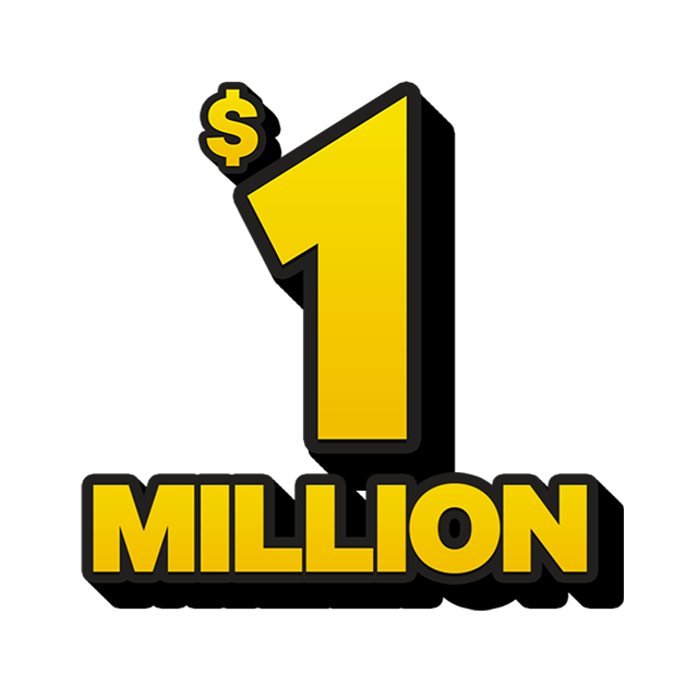 Mega Jackpot Lottery - 1 Million