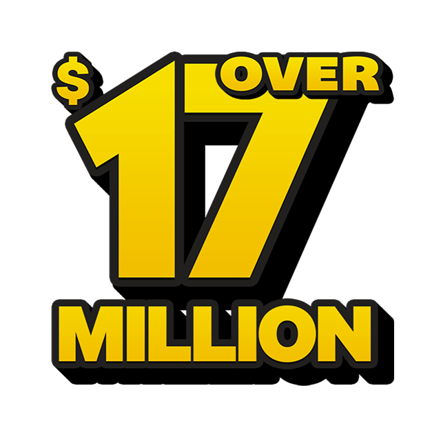 Mega Jackpot Lottery - 17 Million