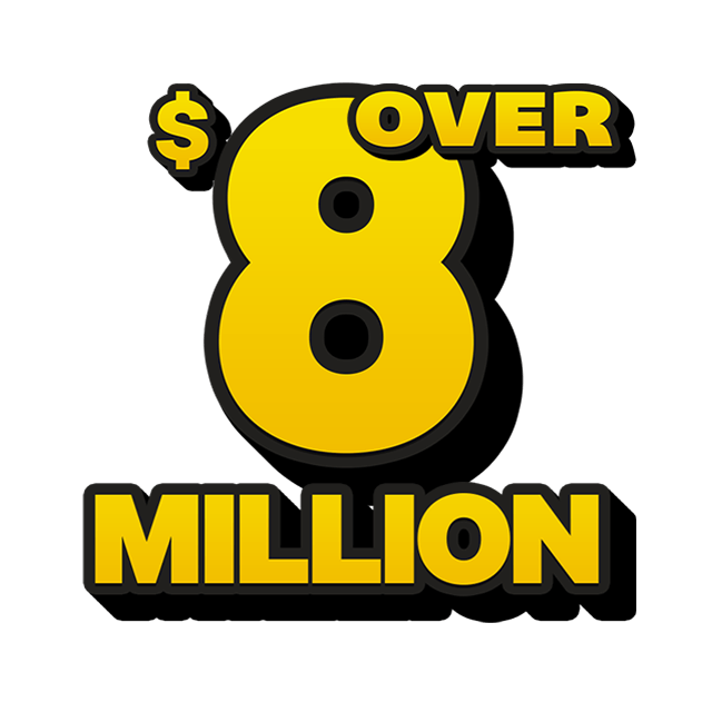 Mega Jackpot Lottery - 8 Million